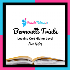 Bernoulli Trials | Maths