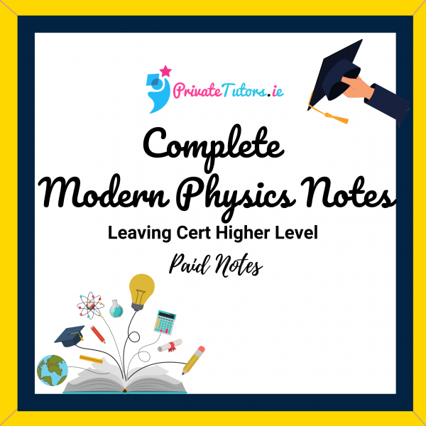 Complete Modern Physics Notes