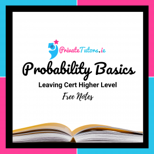 Probability Basics | Maths