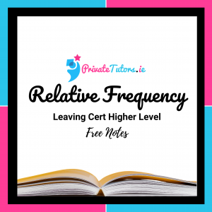 Relative Frequency | Maths