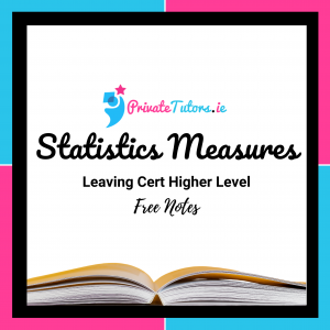 Statistics Measures | Maths